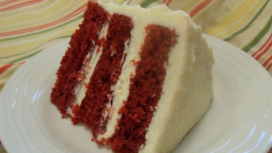 Photo of Mom's Signature Red Velvet Cake by Lisa Miller