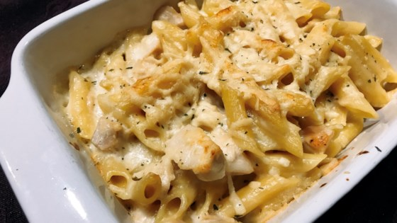 Photo of Chicken Alfredo Bake by thedailygourmet
