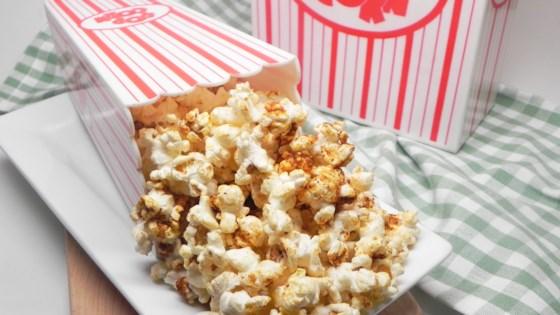 Photo of Cheesy Chili Popcorn  by jessmomof3