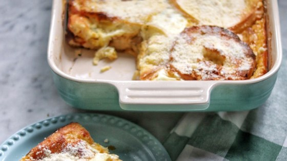Photo of Bagel and Cheese Bake by MU§E