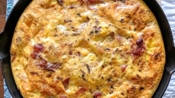 Bacon Cheese Frittata Recipe