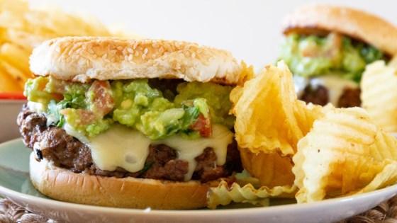 Photo of Guacamole Cilantro Lime Cheeseburger by Gigemmandy