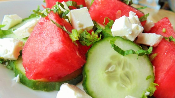 Photo of Watermelon Cucumber Salad by Sarah K