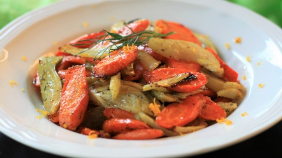 Photo of Orange-Maple Roasted Carrots and Fennel by France C