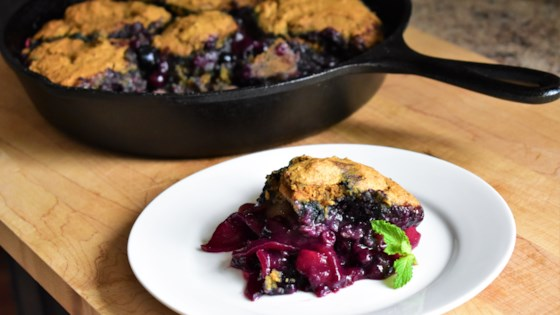 Apple-Blueberry Cobbler