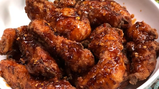 Spicy Korean Fried Chicken with Gochujang Sauce Recipe