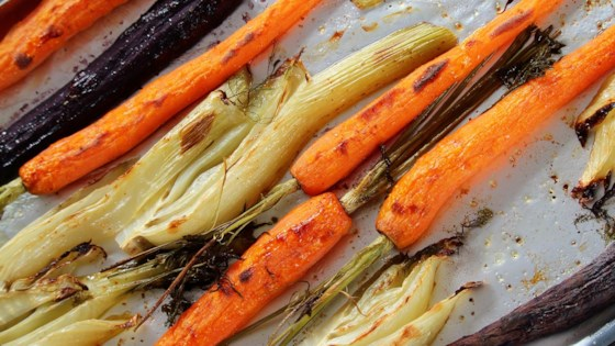 Photo of Roasted Fennel and Carrots by Buckwheat Queen