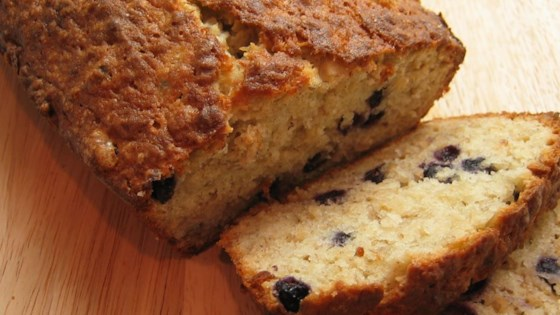 Photo of Favorite Banana Blueberry Quick Bread by MARBALET