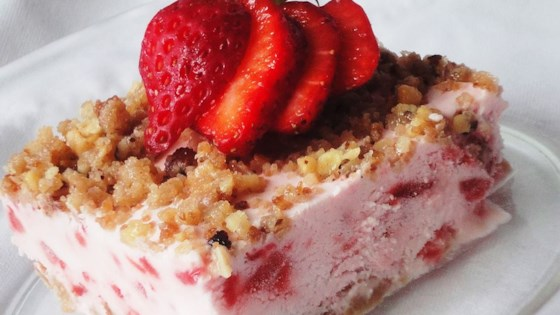 Frosty Strawberry Squares Recipe Allrecipes Com
