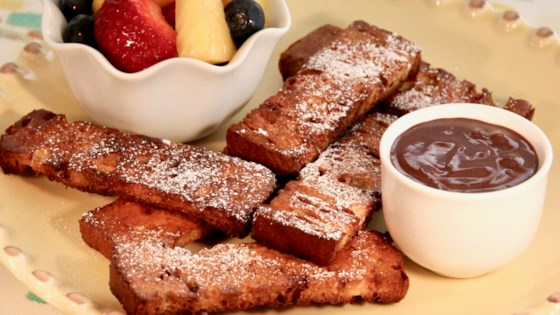 Photo of Baked Babka French Toast Sticks with Chocolate Dipping Sauce by lutzflcat
