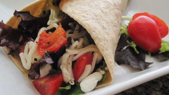 Photo of Baby Greens and Goat Cheese Wrap by Becca T