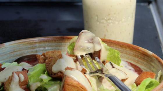 Photo of Vegan Caesar Salad Dressing by gimmini