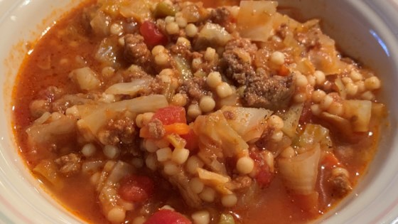 Instant Pot® Cabbage and Turkey Soup Recipe