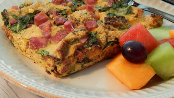 Photo of Easy Breakfast Strata by moonhillcraft