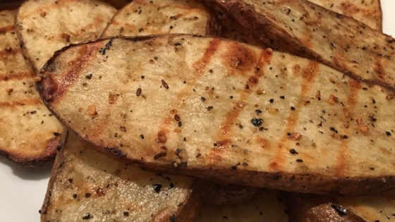 Photo of Grilled Potato Slices by Angela Barnes Hopkins