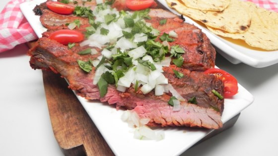 Photo of Tex-Mex Grilled Flank Steak by Soup Loving Nicole
