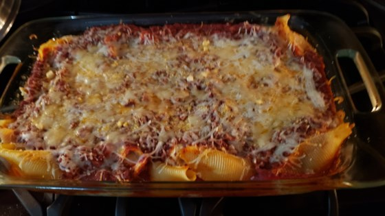 Photo of Stuffed Shells with Four Cheeses by meghann