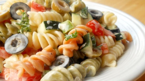 Photo of Italian Confetti  Pasta Salad by Jeri Mortinson
