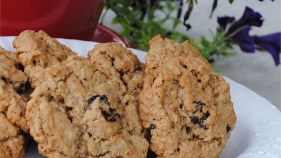 Photo of Oatmeal Cherry Walnut Cookies by Chef Doogie