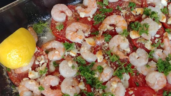 Photo of Mediterranean Shrimp with Tomatoes and Feta by Mary