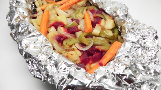 Photo of Grandpa's Grilled Vegetables in Foil by Double L