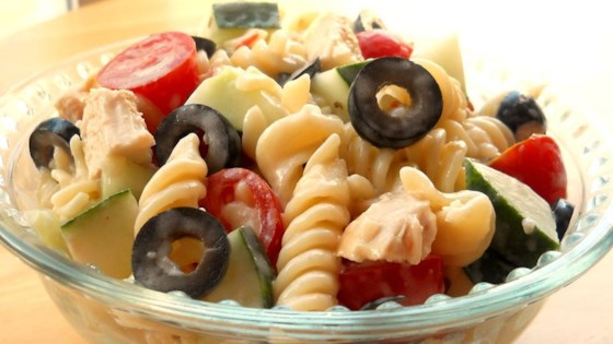 Photo of Yummy Pasta Salad by QUARTERGODDESS
