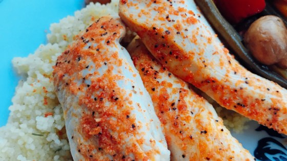 Photo of Kim's Lemon-Baked Chicken Tenders by Kimberly Simpson Rice