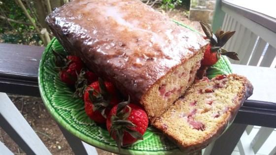 Photo of Strawberry Bread with Buttermilk Glaze by Joshua Mancil