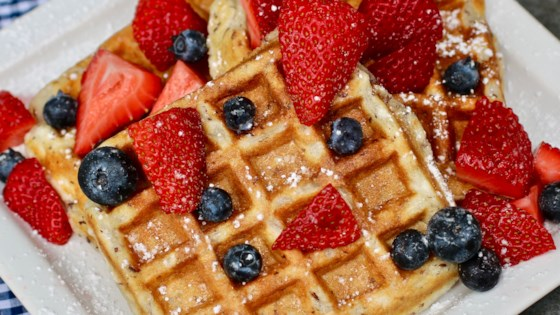 Photo of Light and Fluffy Vegan Waffles by Breanna Ford