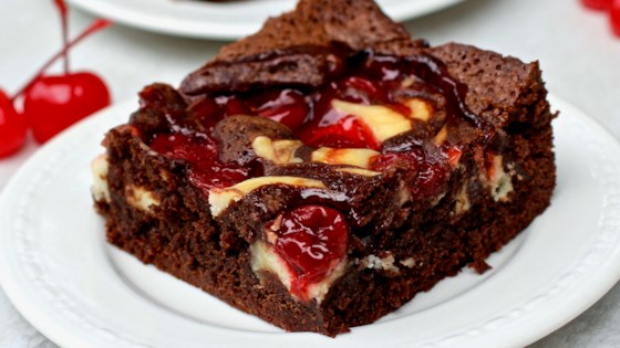 Photo of Cherry Cheesecake Brownies by My Hot Southern Mess