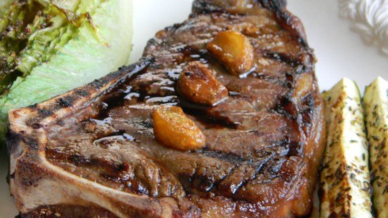Photo of Garlic Steak with Garlic by Chef John