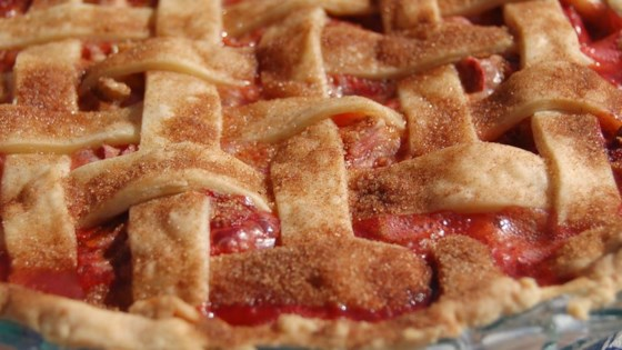 Photo of Summer Strawberry Rhubarb Pie by GoodGoneGirl