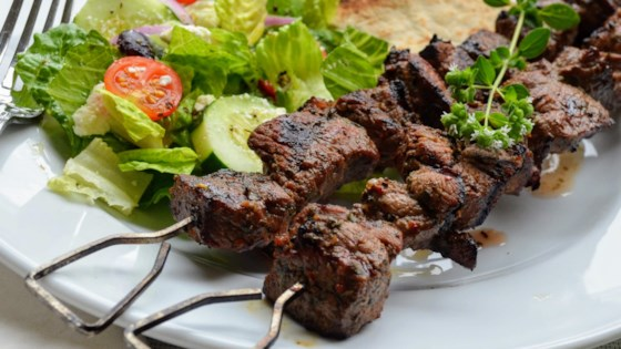Photo of Lamb Souvlaki by Kim's Cooking Now