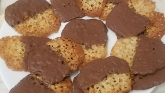 Photo of Milk Chocolate Florentine Cookies by A Miller