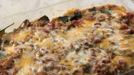 Photo of Easy Mouthwatering Baked Ravioli by alicia716