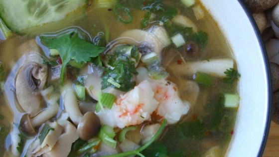 Photo of Super Hot and Sour Shrimp Soup by Emily Tisdale