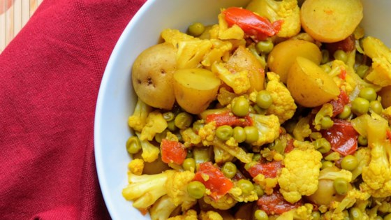 Slow Cooker Vegetarian Curry Recipe