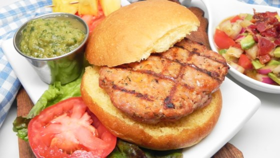 Photo of Grilled Pork Burgers with Pineapple Salsa  by waterlily78