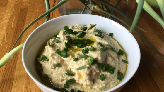 Photo of Garlic Scape Hummus by nch