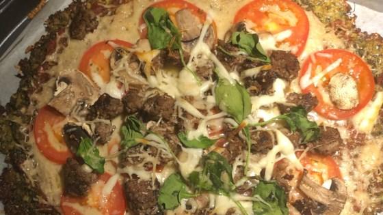 Photo of Cheesy Cauliflower Pizza Crust  by DAIRMUID