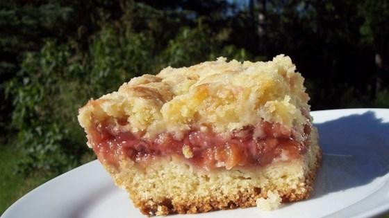 Photo of Strawberry Rhubarb Coffee Cake by Benita  Thomas