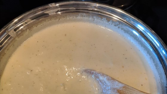 Photo of Keto Mozzarella Alfredo Sauce by dalton