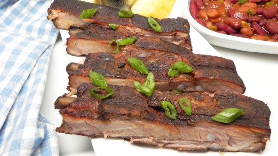 Photo of Botack's Fall-Off-the-Bone Pineapple Baked Rack of Ribs by Botack