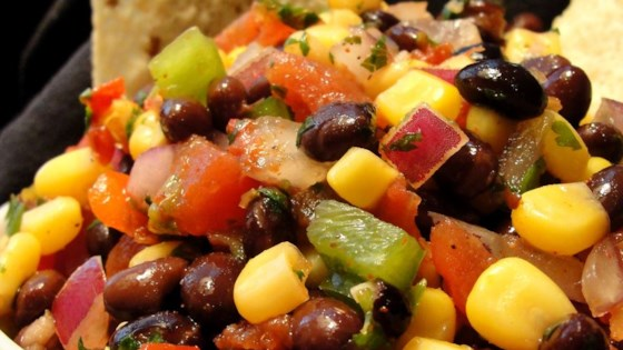 Photo of Heather's Cilantro, Black Bean, and Corn Salsa by hvoeltner