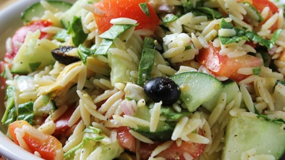Photo of Greek Orzo Salad by Patrice