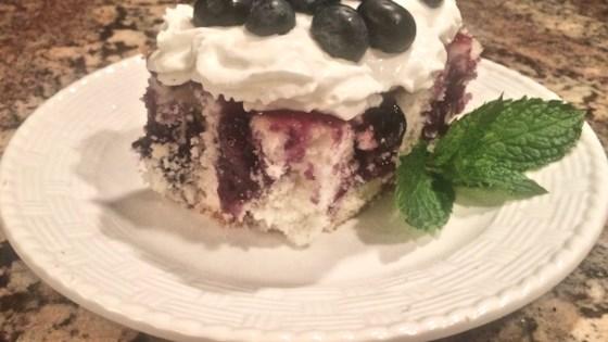 Photo of Blueberry Poke Cake by Bibi