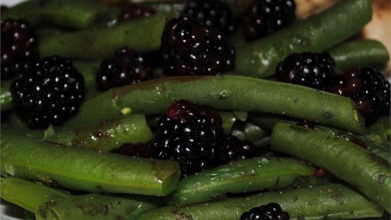 Photo of Fresh Oregano and Blackberry Green Beans by Menealeous' Daughter