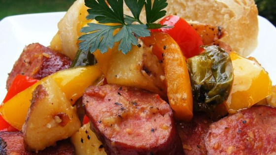 Photo of Kielbasa with Peppers and Potatoes by Jeff Maloney