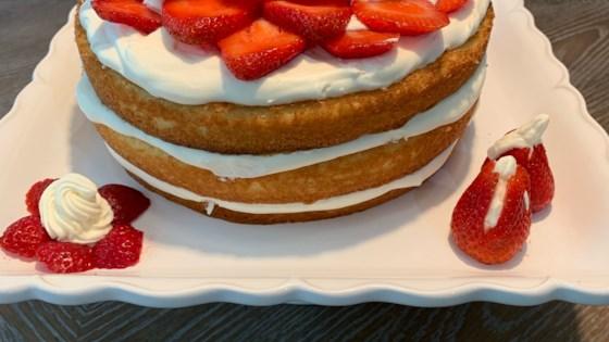 Photo of Strawberry Refrigerator Cake by Deborah Westbrook