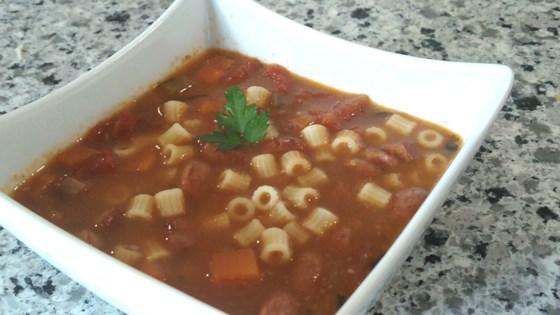 Photo of Instant Pot® Cranberry Bean Soup by Bren